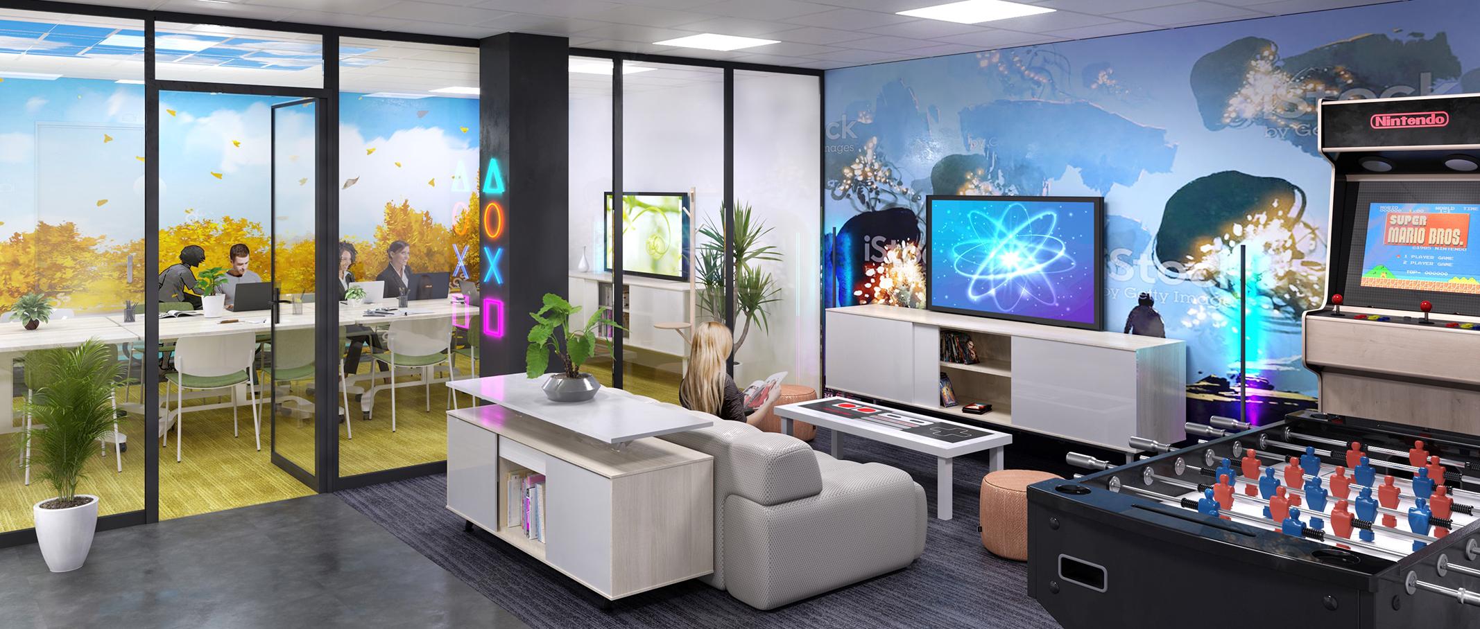 Coworking Aix-en-Provence - Geekroom et salle de réunion